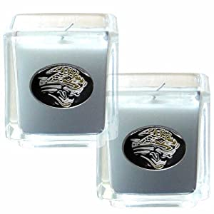 NFL Jacksonville Jaguars Candle Set by Siskiyou Gifts Co, Inc.