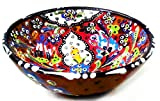 Turkceramics Releif Bowl (10cm, Red)