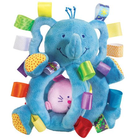 Taggies Grabby Elephant Toy (Discontinued by Manufacturer)