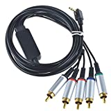JerGO Premium HDTV HD AV Component Cable Compatible With SONY PSP Slim 2000/3000