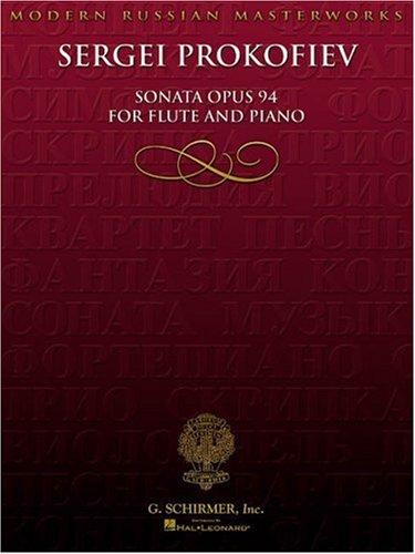 Sonata, Op. 94 (Moern Russian Masterworks)
