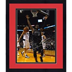 Framed NBA Miami Heat Dwyane Wade Autographed 8 x 10 Photo vs Dallas Mavericks -... by Sports Memorabilia