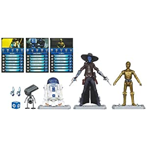 Star Wars 3.75 Inch Battle Pack Battle Game Capture the Droids