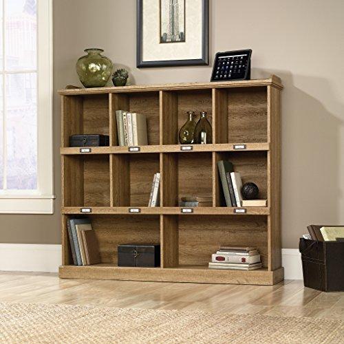 Sauder Barrister Lane Bookcase, Scribed Oak Finish