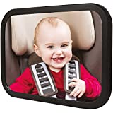 TopQPS Baby Car Mirror Made to keep your Child Safe-Satisfaction is 100% Guaranteed-Child Safety is Extremely Important and Everyone Should have One of These Rear Facing Baby Mirrors for Car