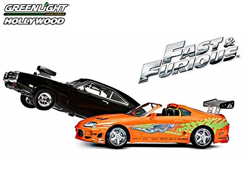 Greenlight Fast and Furious Charger and Supra Die-Cast Vehicle 2-Pack