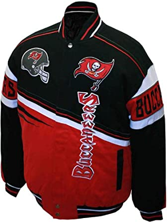 NFL Mens Tampa Bay Buccaneers 1st and 10 Cotton Twill Jacket by MTC Marketing, Inc