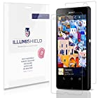 iLLumiShield - Sony Xperia Z Screen Protector & Full Body Skin Front+Back Japanese Ultra Clear HD Film with Anti-Bubble and Anti-Fingerprint - High Quality (Invisible) LCD Shield - Lifetime Replacement Warranty - [3-Pack] OEM / Retail Packaging