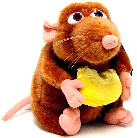 Buy Low Price Mattel Disney Pixar Ratatouille Movie EXCLUSIVE Mini Plush Figure Emile (B000U63E6G)