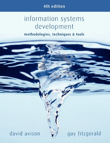 Information Systems Development: Methodologies, Techniques & Tools
