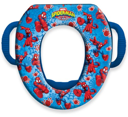 Spiderman Soft Potty Seat, Red Blue front-177899
