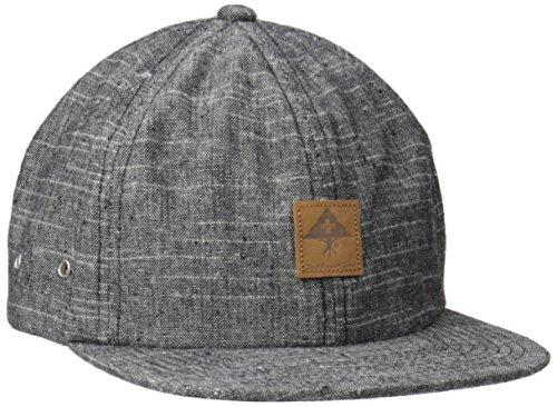 LRG Men's Against Grain Strap Back, Black, One Size (Lrg Panel Hat compare prices)