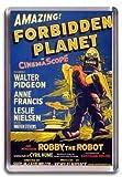 Forbidden Planet - Fridge Magnet