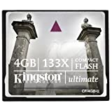 4GB 133X Kingston Ultimate CompactFlash Memory Card