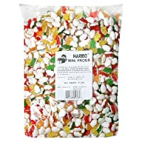 Haribo Gummy Candy, Mini Frogs, 5-Pound Bag from Haribo