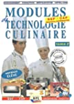 Modules de technologie culinaire BEP-...