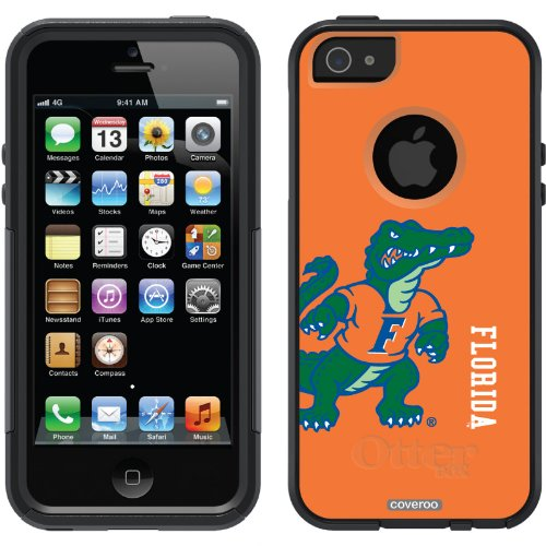Great Sale University of Florida - full design on a Black OtterBox® Commuter Series® Case for iPhone 5s / 5