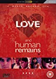 Love & Human Remains packshot