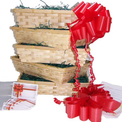 Christmas Gift Basket DIY Hamper Kit: The Small Beale Bumper Pack of 5
