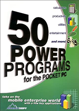 50 Power Programs for the Pocket PC