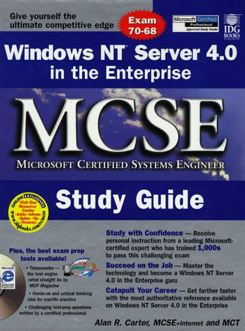 Windows Nt Server 4.0 in the Enterprise McSe Study Guide