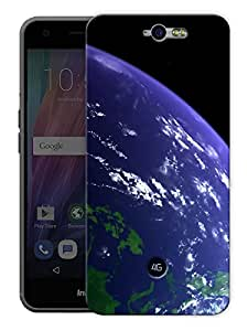 """Earth From Above Printed Designer Mobile Back Cover For """"Google Infocus M812"""" By Humor Gang (3D, Matte Finish, Premium Quality, Protective Snap On Slim Hard Phone Case, Multi Color)"""