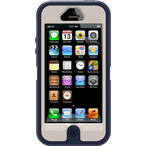 Best Price Otterbox Defender Series Case for Iphone 5 blue/white/black