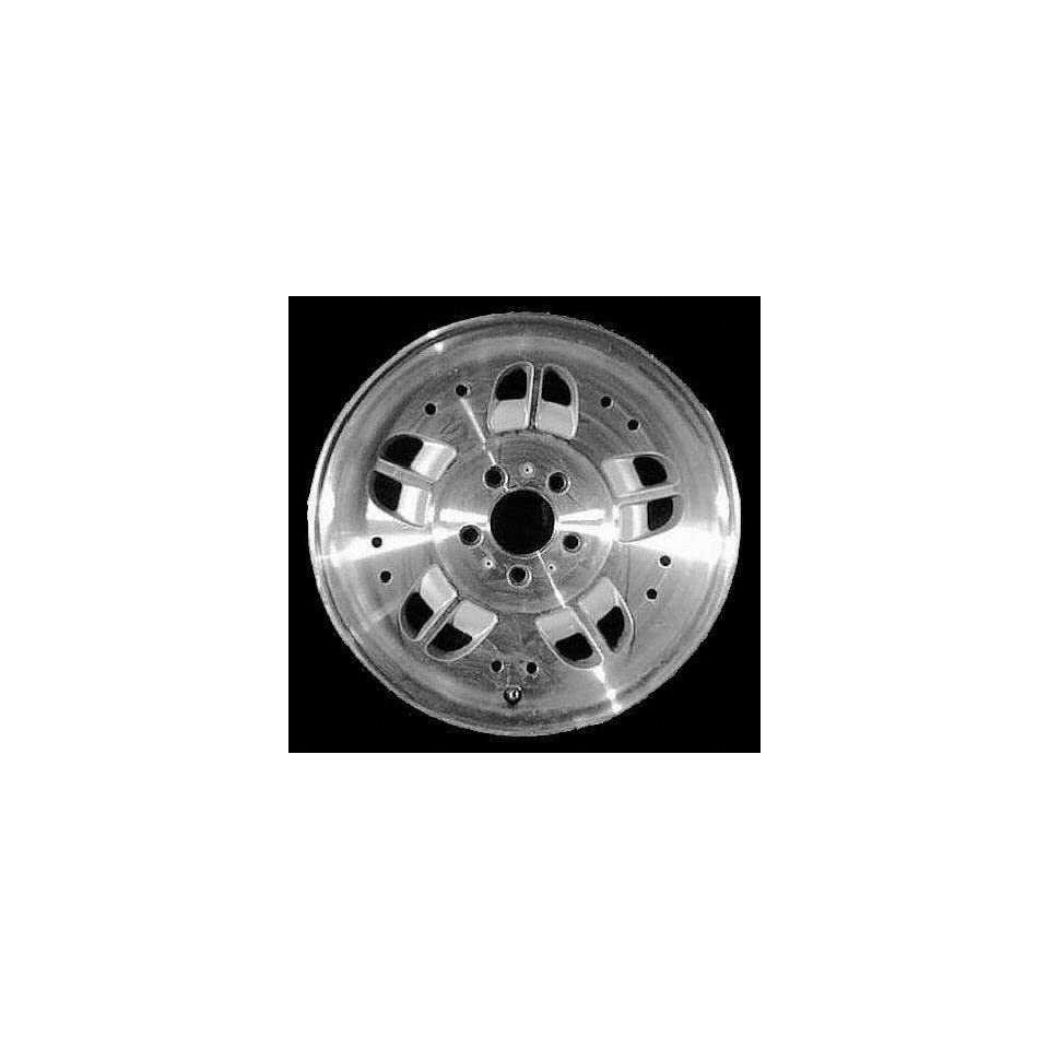 93 95 FORD RANGER ALLOY WHEEL RIM 15 INCH TRUCK, Diameter 15, Width 7 (10 DEPRESSIONS), BRIGHT SILVER, 1 Piece Only, Remanufactured (1993 93 1994 94 1995 95) ALY03071U10