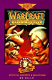 img - for WarCraft: Orcs & Humans Official Secrets & Solutions (Gamebuster Series) book / textbook / text book