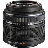 Olympus 14-42mm f/3.5-5.6 Ver. II R, Interchangeable Lens for Olympus / Panasonic Micro 4/3 Cameras, Black