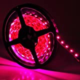16.4ft 5050rgb Waterproof LED Strip Light,150 Leds,with 36w Power Supply&24keys Remote Control,decorated Lights for Weddings,christmas Parties, Bars,clubs and House Gardens