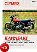 Clymer Kawasaki, Z & Kz900-1000 CC Chain & Shaft Drive, 1973-1981 (Includes C Series Police Models) (Clymer Motorcycle Repair)