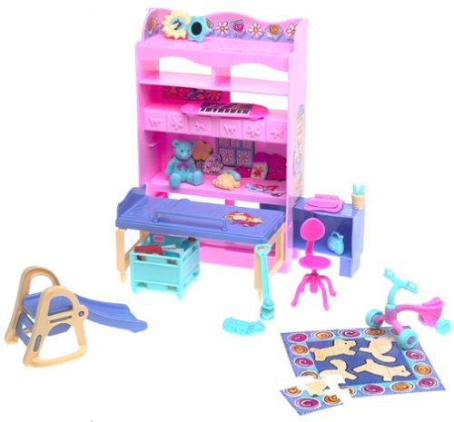 Barbie Kelly Bedroom All Around Home Playset (2000)