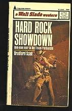 Hard Rock Showdown by Bradford Scott