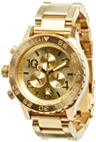 Nixon 42-20 Chrono Watch All Gold, One Size [Watch] Nixon