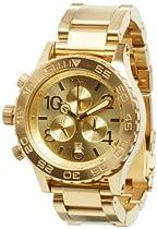 Nixon 42-20 Chrono Watch All Gold, One Size [Watch] Nixon