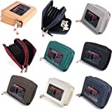 Womens Leather Mini Wallet ID Credit Cards Cash Coin Holder Case Organizer Purse thumbnail