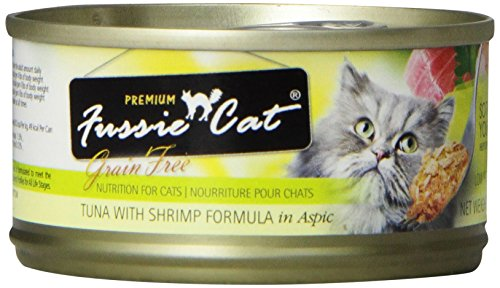 Fussie Cat Premium - Tuna With Shrimp
