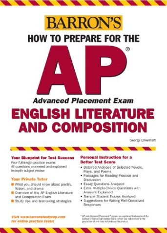 How to Prepare for the AP English Literature and Composition (Barron's AP English Literature & Composition) (2004 World Series Program compare prices)