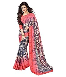 My online Shoppy Georgette Saree (My online Shoppy_34_Multi-Coloured)