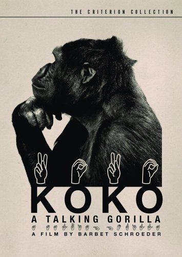 Cover art for  Koko: A Talking Gorilla (The Criterion Collection)