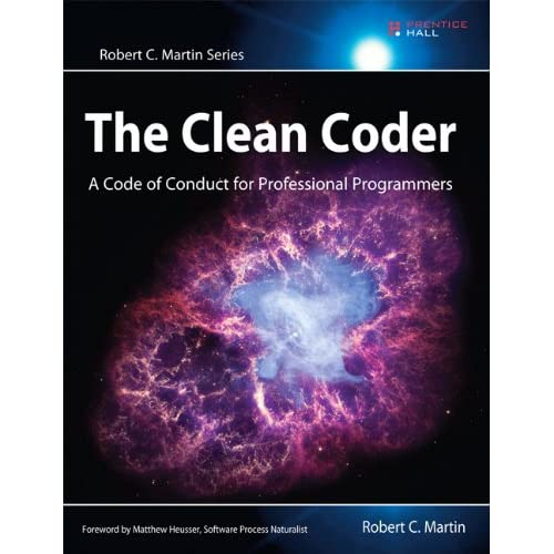 Cover of the clean coder