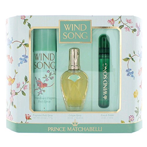 Prince Matchabelli 3 Piece Wind Song Perfume Gift Set