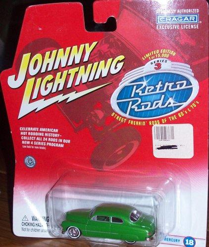 Johnny Lightning Retro Rods Series 3 - '48 Mercury #18 - 1