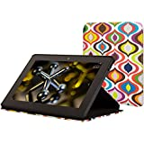 Jonathan Adler Kindle Fire HDX Cover (3rd Generation - 2013 release), Bargello Waves