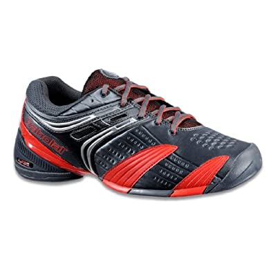 Babolat V-Pro All Court Mens Tennis Shoe (14, Graphite Black/Red)