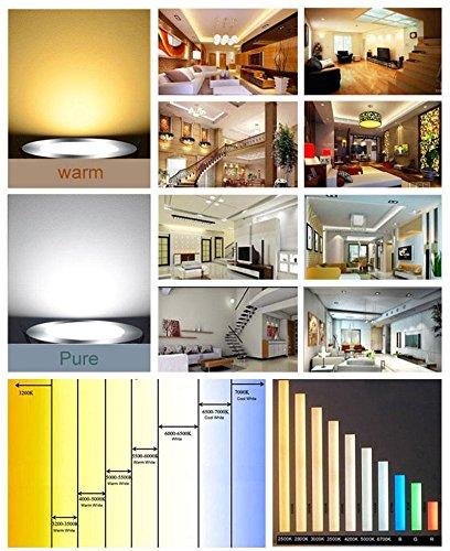 Keyzone E27 1.6W Cob Led Filament Transparent Bulb Globe Light Lamp Warm Pure White 220V