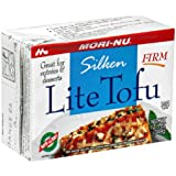 Mori-Nu Tofu, Lite, Silken, Firm, 12.3-Ounce Boxes (Pack of 12)