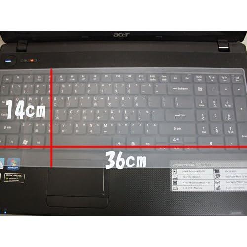 15~17インチノートパソコン用シリコンキーボードカバー