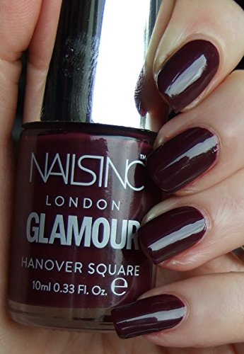 NAILS INC London Glamour Nail Polish, 10ml - Hanovre Carré, 10ml